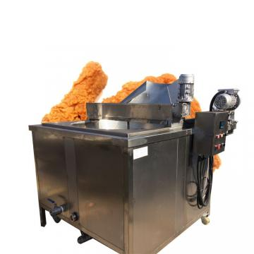 Commercial 2 Tank 4 Basket Deep Fryer Oil Filter Machine