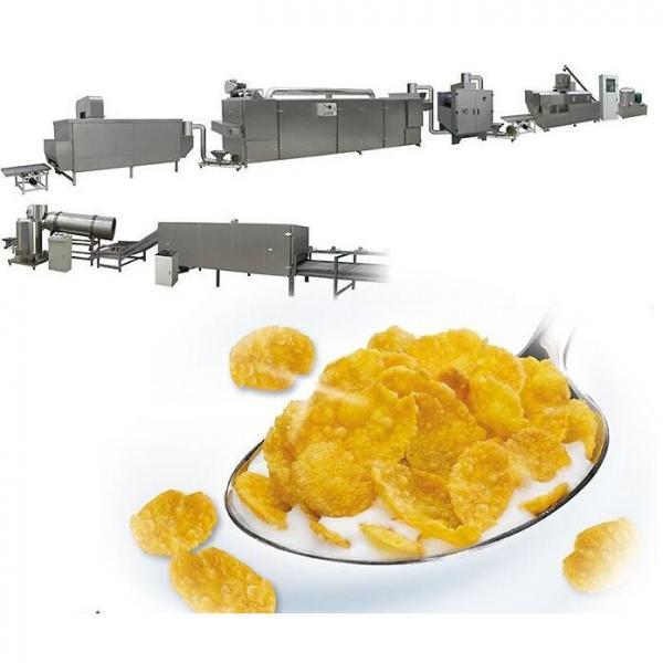 Automatic Grain Corn Rice Breakfast Cereal Flaking Machine