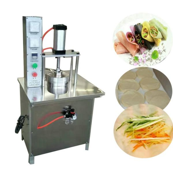 Automatic Commercial Arabic Pita Bread Maker Machine for Bakery