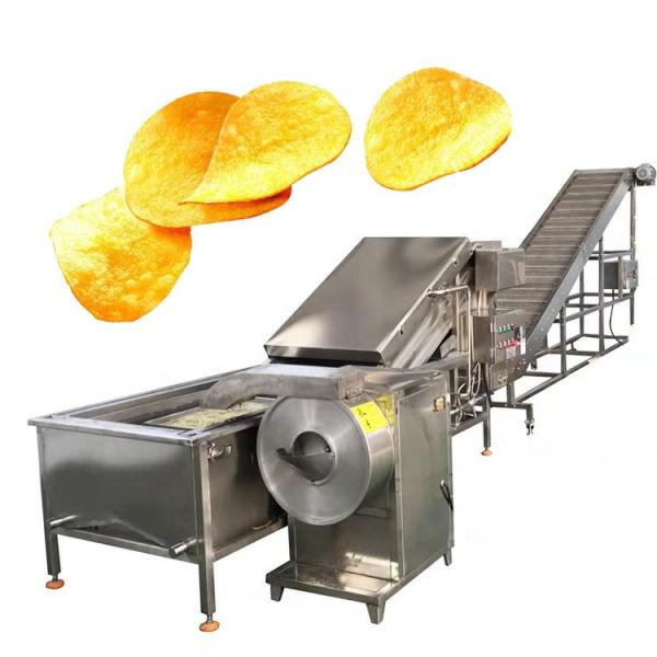 Industrial potato crisps sweet potato chips making machine potato flakes maker
